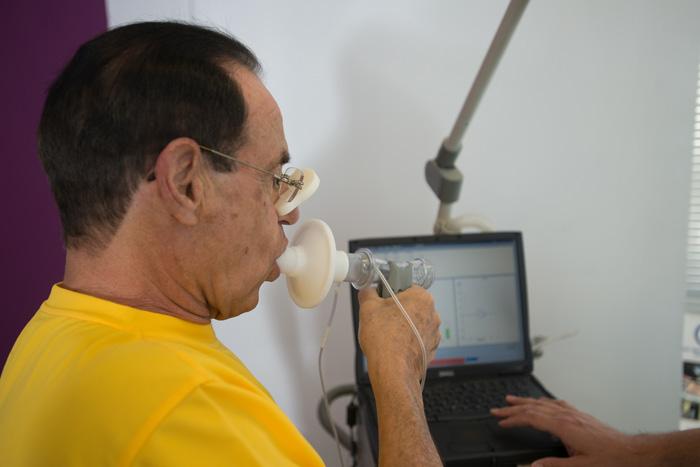 בדיקת תפקודי ריאה